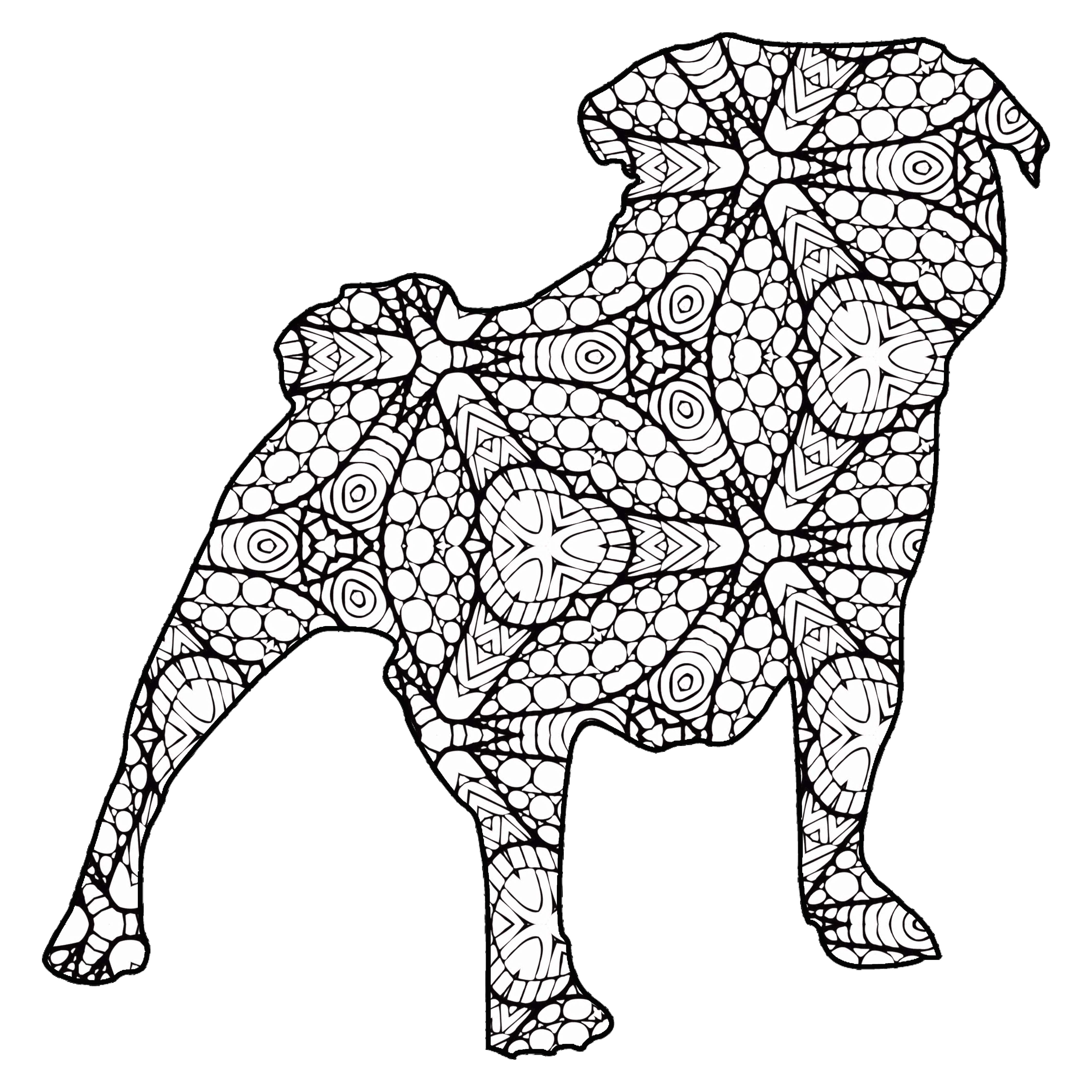 30 Free Printable Geometric Animal