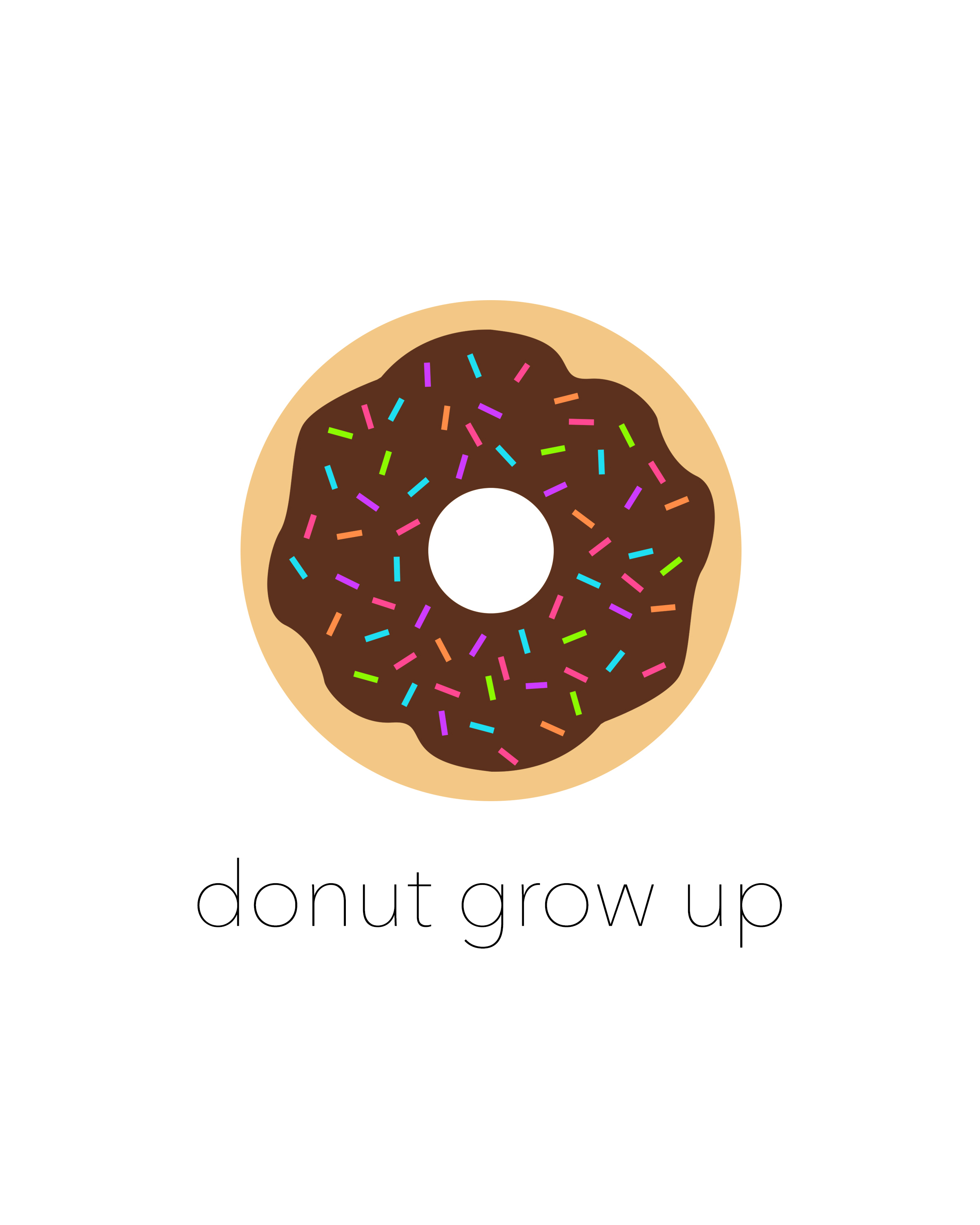 Free Donut Printables For National Donut Day The Cottage Market
