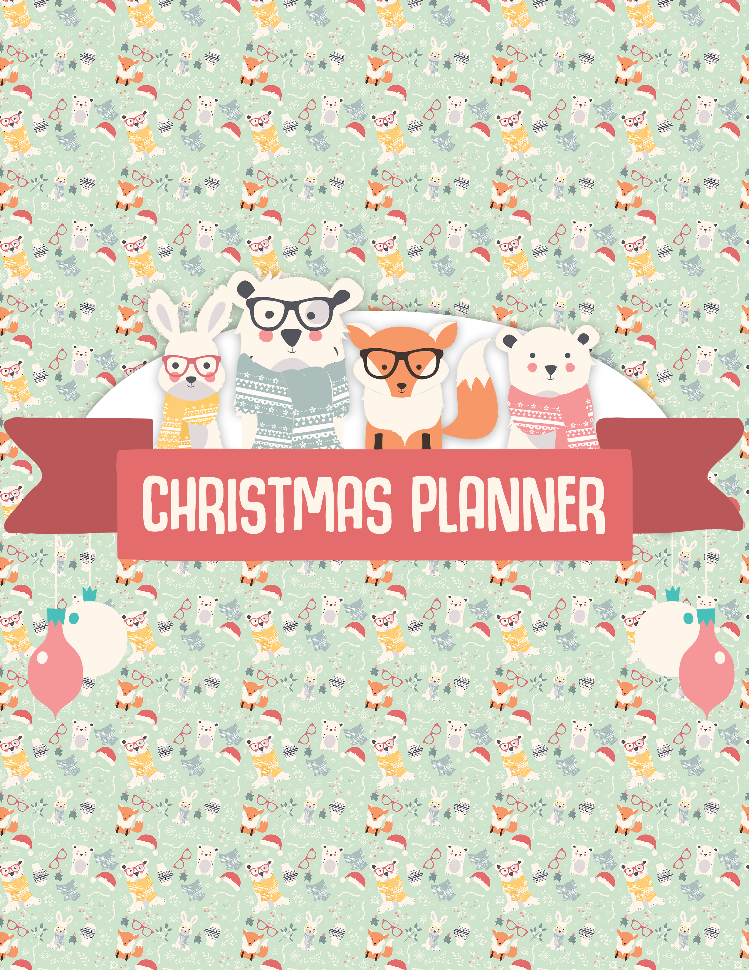 Free Printable Christmas Planner - The Cottage Market