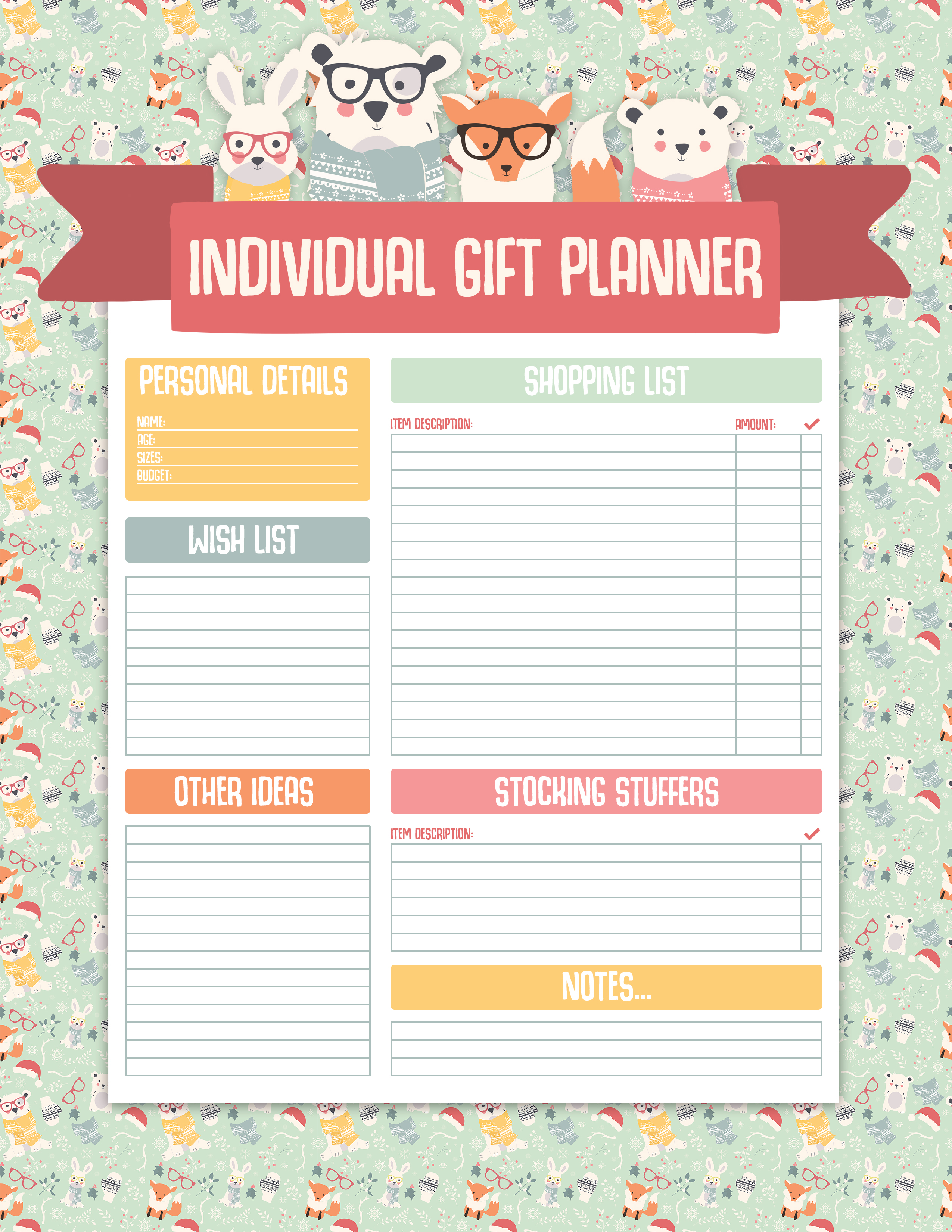 Christmas Planner Printables Free.Free Printable Christmas Planner Pack The Cottage Market