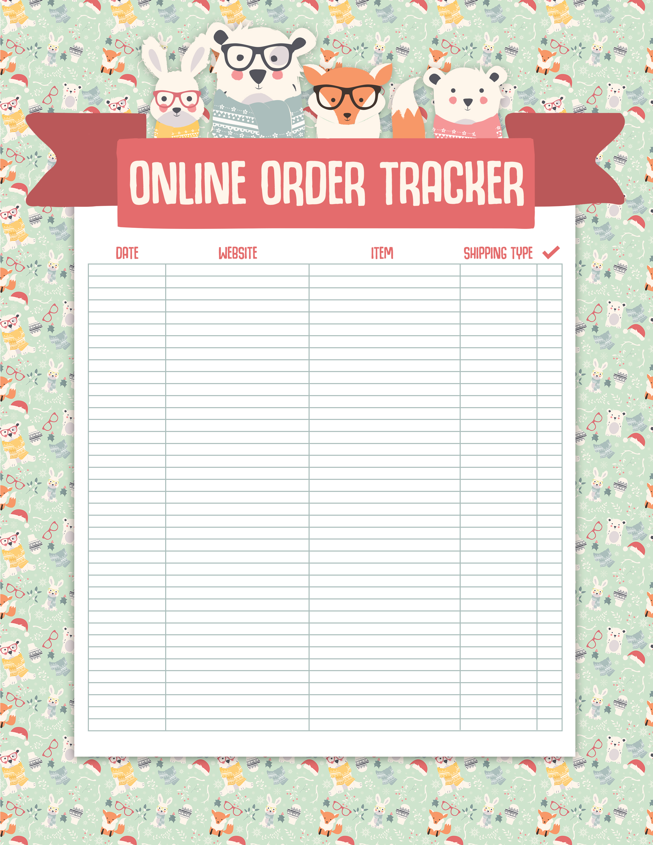 Free Printable Christmas Planner The Cottage Market