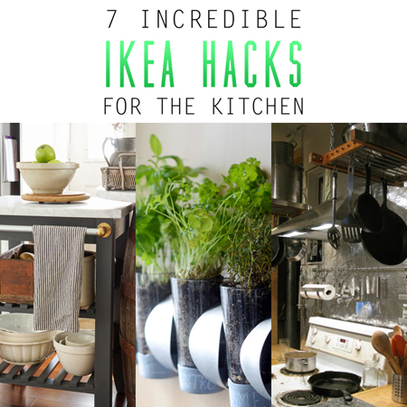 7 Incredible IKEA Hacks for the Kitchen