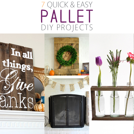 7 quick and easy pallet diy projects the cottage market