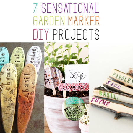 7 Sensational Garden Marker DIY Projects
