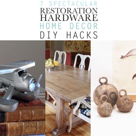 7 Spectacular Restoration Hardware Home Decor DIY Hacks The Cottage Market