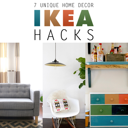 7 unique home decor ikea hacks the cottage market for Home decorations unique