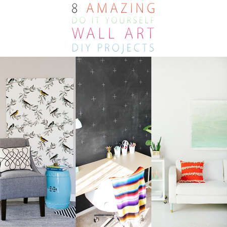 8 amazing wall art diy projects the cottage market for Do it yourself wall decor