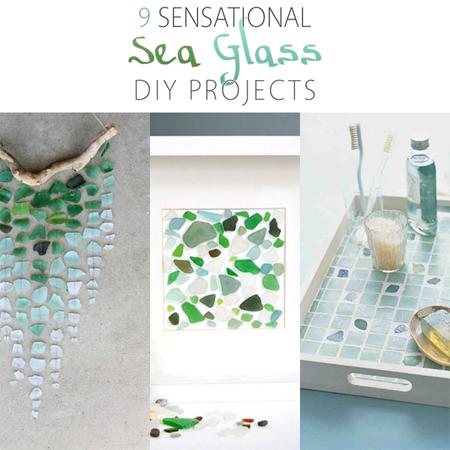 9 Sensational Sea Glass DIY Projects