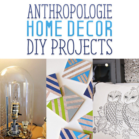 Anthropologie inspired home decor diy projects the for Anthropologie mural