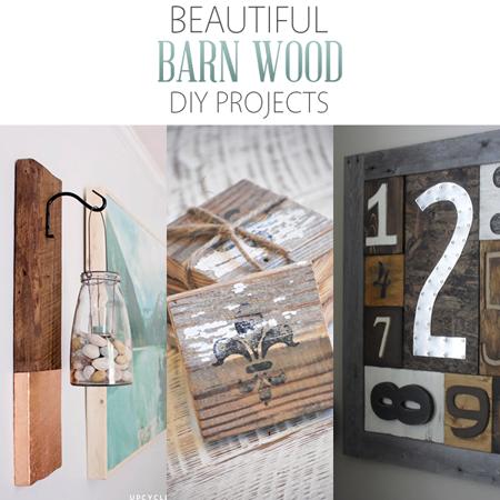 Beautiful Barn Wood DIY Projects