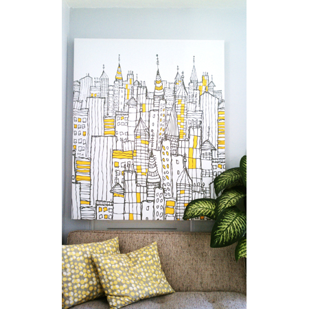 Big Wall Art DIY Projects - The Cottage Market
