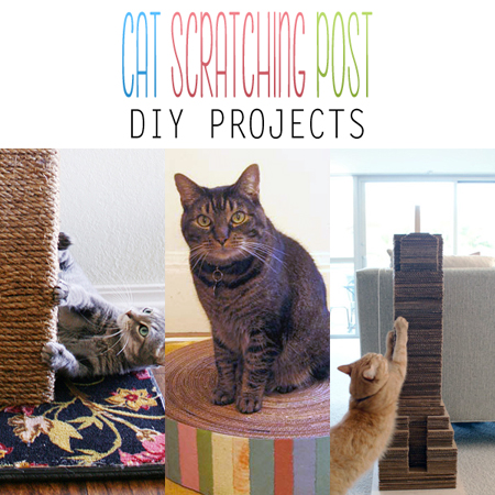 Cat Scratching Post DIY Projects