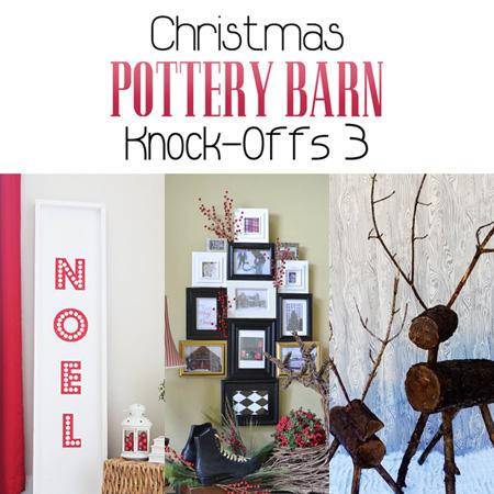 Christmas Pottery Barn Knock-Offs 3