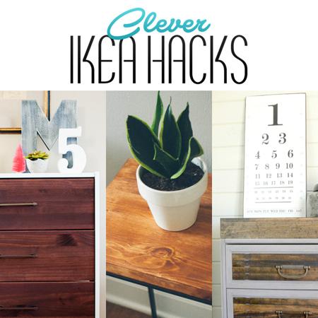 Clever Ikea Hacks