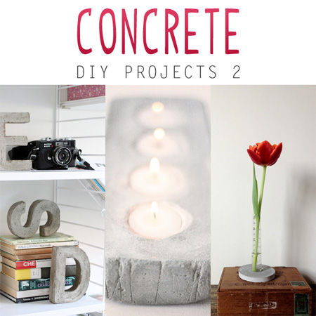 Concrete DIY Projects 2