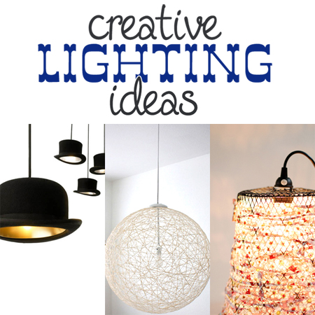 creative lighting projects the cottage market