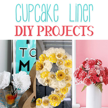 Cupcake Liner DIY Projects