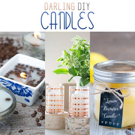 Darling DIY Candles