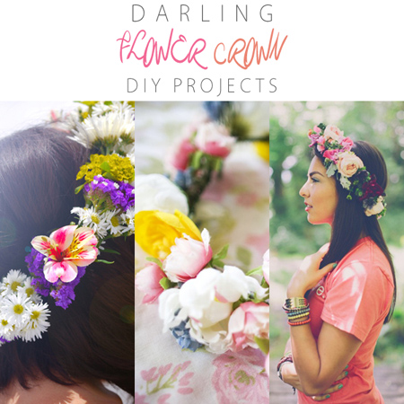Darling Flower Crown DIY Projects