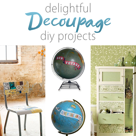 Delightful Decoupage DIY Projects