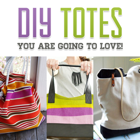 DIY Totes You are Going to LOVE!