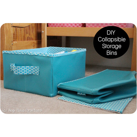 Do It Yourself Fabric Storage Bins The Cottage Market