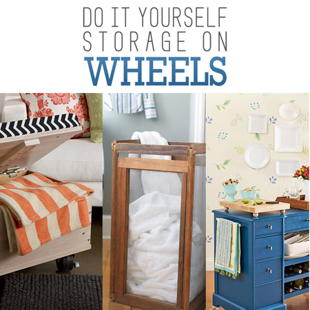 Do it Yourself Storage on Wheels
