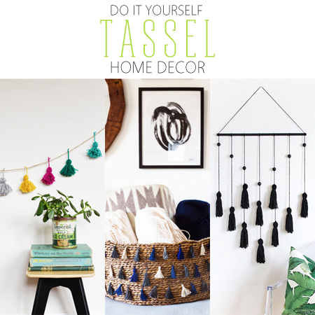 Http Thecottagemarket Com 2015 07 Diy Tassel Home Decor Html