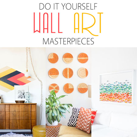 Diy wall art masterpieces the cottage market for Do it yourself wall decor