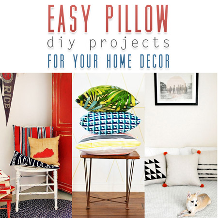 Easy Pillow Diy Projects For Your Home Decor The Cottage