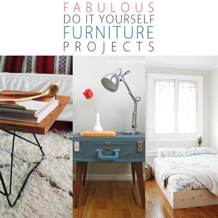 Fabulous DIY Furniture Projects The Cottage Market