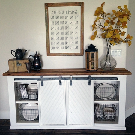 Fabulous Farmhouse Style Console Diy S The Cottage Market