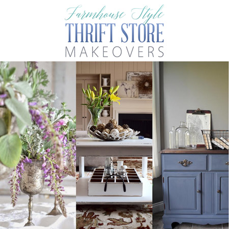 Farmhouse Style Thrift Store Makeoves