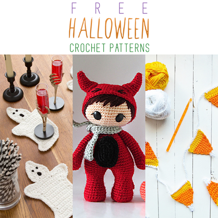 Free Crochet Patterns For Halloween : Free Halloween Crochet Patterns - The Cottage Market