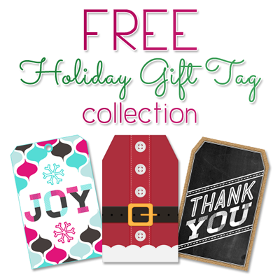 Free Printable Holiday Gift Tags (A great collection for everyone on your list)