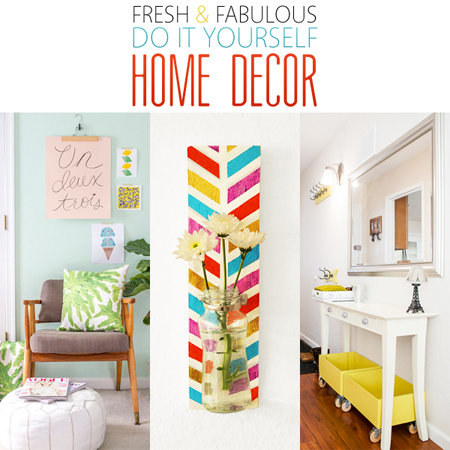 Fresh and fabulous diy home decor the cottage market for Do it yourself mural