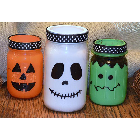 halloween mason jar diy projects the cottage market