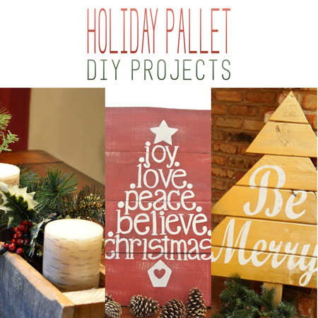 Holiday Pallet DIY Projects