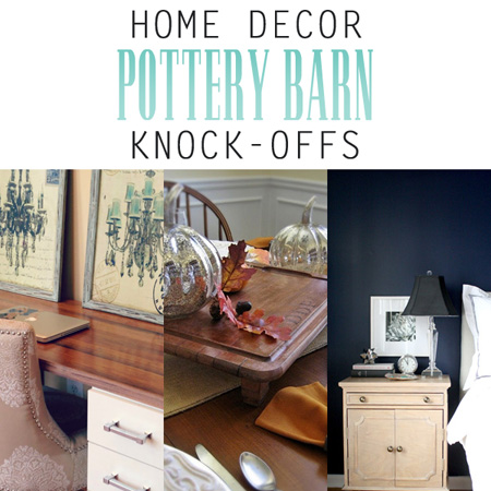 home decor pottery barn knock offs the cottage market