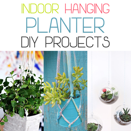 Indoor Hanging Planter DIY Projects