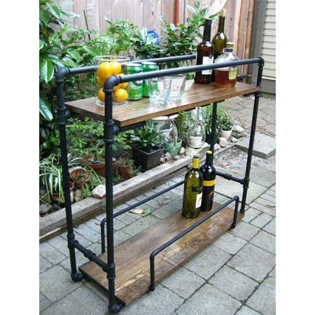 Industrial pipe home decor diy projects the cottage market for Industrial diy projects