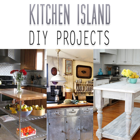 Kitchen Island DIY Projects