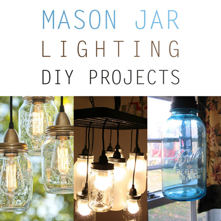 Mason Jar Lighting DIY Jars