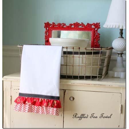 More Delightful Dish Towel DIY Projects