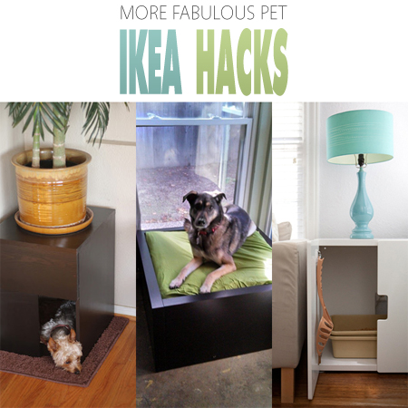 More Fabulous Pet Ikea Hacks