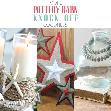 More Pottery Barn Knock-Off Goodness
