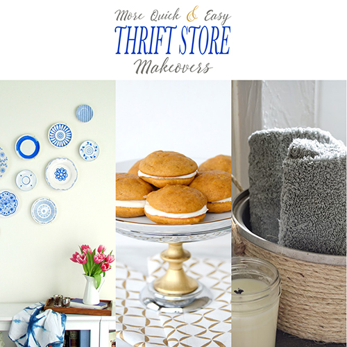 More Quick and Easy Thrift Store Makeovers