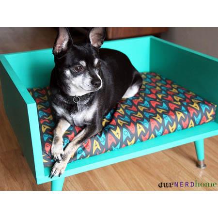 No-Sew DIY Pet Bed Idea 1