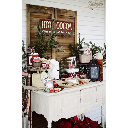 27 superb farmhouse outdoor christmas decor