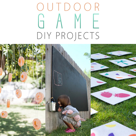 Outdoor Game DIY Projects
